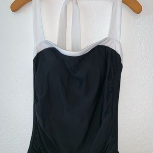 One Piece halter top swimsuit